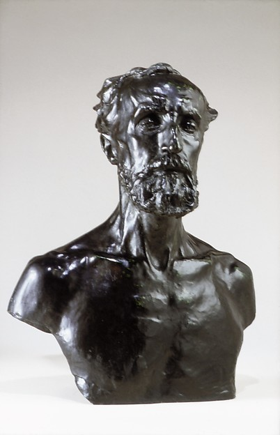 This is What Auguste Rodin and Jules Dalou Looked Like  in 1883