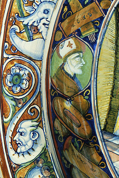 Bowl with Saint Nicholas of Tolentino
