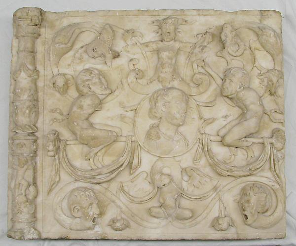 Architectural ornament panel
