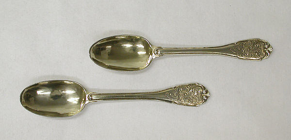 Coffee spoon (one of a pair)