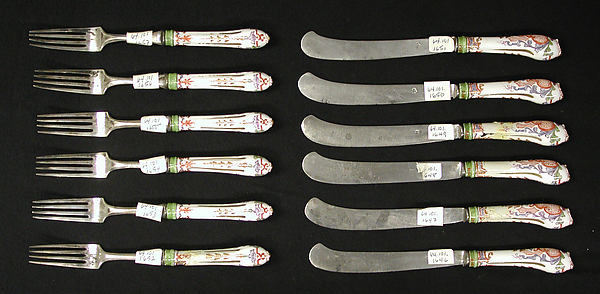 Knives and forks (set of six pairs)