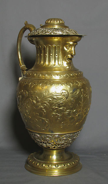 Ewer or great jug with cover