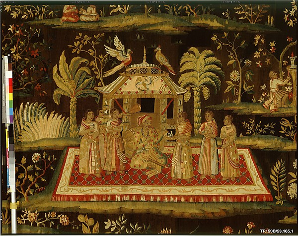 The Concert from a pair of Indo-Chinese scenes