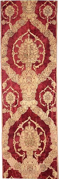 Length of velvet