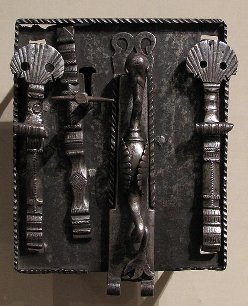 Coffer lock and key
