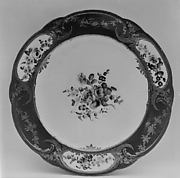 Plate (Assiette à palmes) (1 of 102) (part of a service)