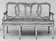 Set of settee and five chairs