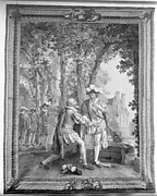 Sully at the Feet of Henri IV from a set of The History of France