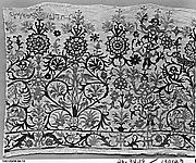 Portion of a dress border