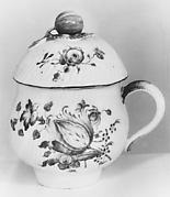 Cream pot with cover