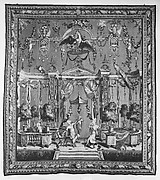 The Offering to Pan from a set of the Berain Grotesques
