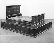 Bed from Davanzati Palace