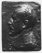 Portrait of Pierre Puvis de Chavannes (1824-1898), greatest of French decorative painters