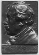 Portrait of Edmond de Goncourt (1822-1896), novelist and man of letters
