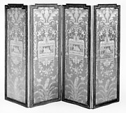 Four-leaf folding screen (Paravent)