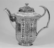 Coffeepot (part of a tea service)