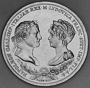 Commemorating Marriage of Napoleon and Marie Louise