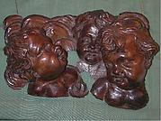 Group of cherub heads