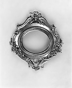 Miniature oval frame