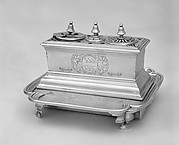 Inkstand on a tray
