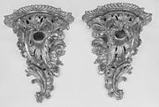 Pair of wall brackets