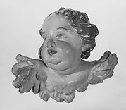 Head of a cherub