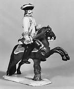 Equestrian figure of a cavalry officer
