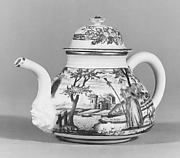 Teapot with cover