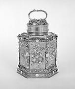Hexagonal canister (Schraubflasche)
