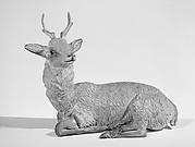Recumbent deer