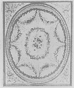 Tapestry lining for tester (ciel for lit à la duchesse en impériale)