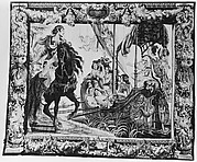 The Meeting of Antony and Cleopatra from a set of The Story of Antony and Cleopatra