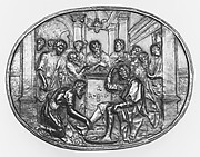 Christ washing the feet of his disciples