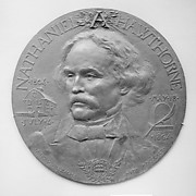 Portrait of Nathaniel Hawthorne, Executed for the Grolier Club, New York, 1892