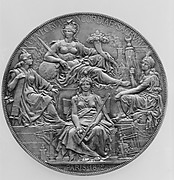 To commemorate the Congress held at Paris (1872–3) to regulate the adoption of the Metric System