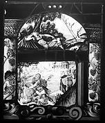Samson slaying the Lion; Jacob's Ladder