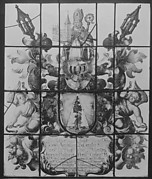 Ecclesiastical armorial panel