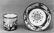 Cup and saucer (part of a tea set)