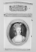Souvenir with portrait of a woman