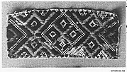 Peasant costume fragment
