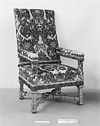 Armchair (one of a pair)