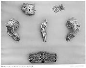 Keyhole escutcehon and doorknob