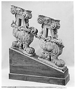 Pair of balusters