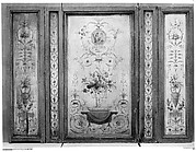 Set of five wall panels
