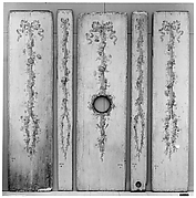 Set of five panels