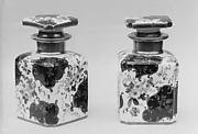Pair of perfume bottles