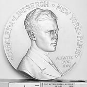 Col. Charles Augustus Lindbergh, Commemorating his New York to Paris Flight May 20-21, 1927