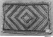 Peasant costume fragment