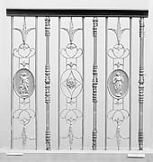 Set of three balustrades
