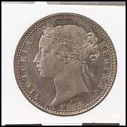 Queen Victoria proof florin